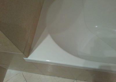 Τοπική επισκευή σμάλτου σε ακρυλική μπανιέρα – Μάτι