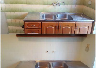 fixyourbath επισμάλτωση κουζίνας