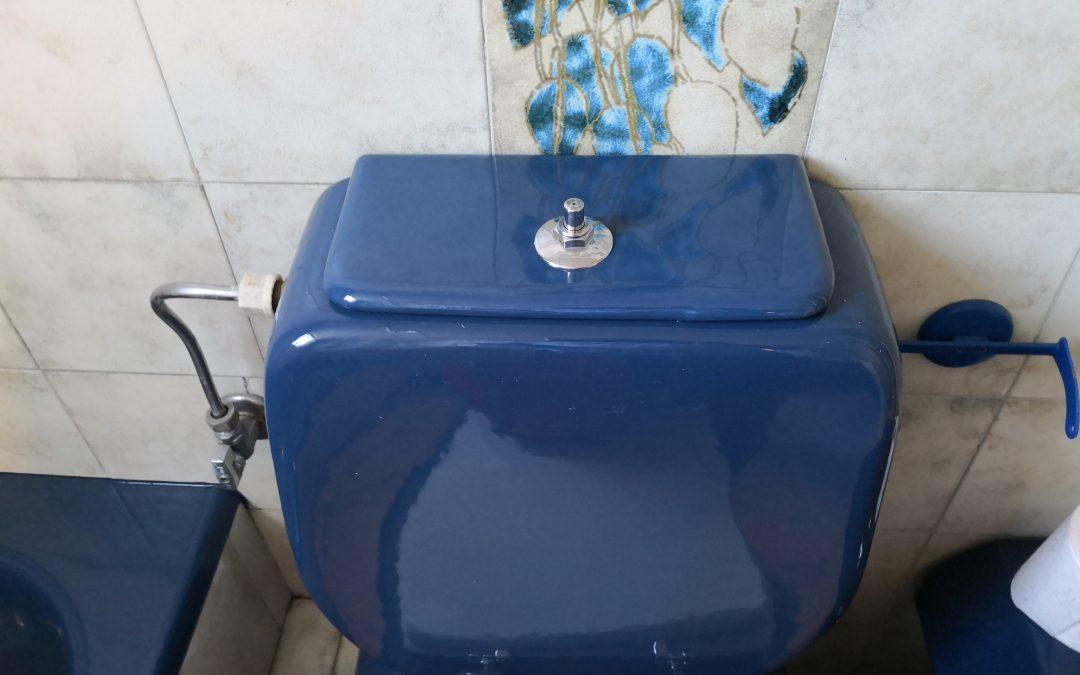 Επισκευή σε καπάκι τουαλέτας – Ωρωπός